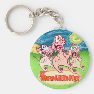 Three Little Pigs™ Keychain