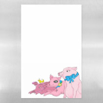 Three Little Pigs Magnetic Dry Erase Sheet