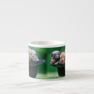 Three little pigs - three pigs - pig hat espresso cup