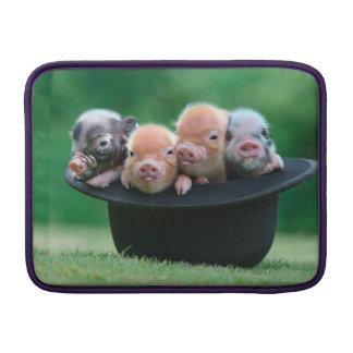 Three little pigs - three pigs - pig hat MacBook air sleeve