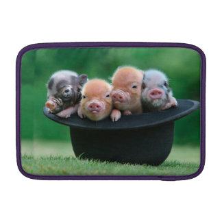 Three little pigs - three pigs - pig hat MacBook sleeve