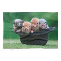 Three little pigs - three pigs - pig hat towel