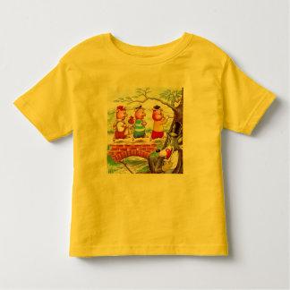 Three Little Pigs Toddler T-shirt