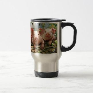 Three Little Pigs Travel Mug