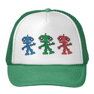 Three Little Robots Trucker Hat