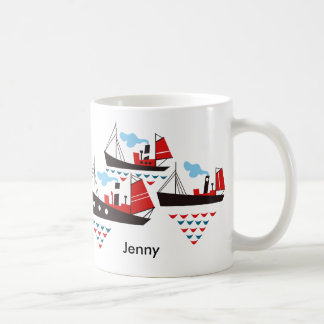 Three Little Ships Mug