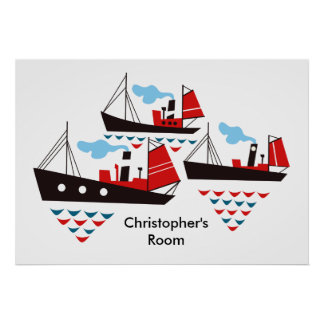 Three Little Ships Poster