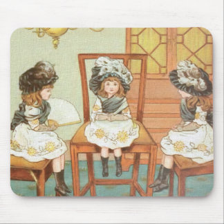 """Three Little Sisters"" Mouse Pad"