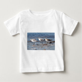Three little stints at Quiberon in France Baby T-Shirt