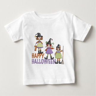Three Little Witches Halloween Fun Baby T-Shirt