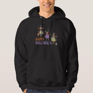 Three Little Witches Halloween Fun Hoodie