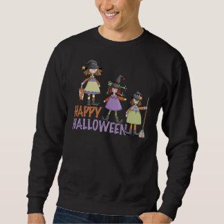 Three Little Witches Halloween Fun Sweatshirt