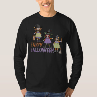 Three Little Witches Halloween Fun T-Shirt