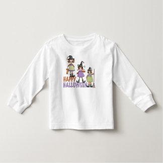 Three Little Witches Halloween Fun Toddler T-shirt