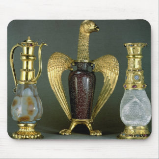Three liturgical vessels incorporating antique ves mouse pad