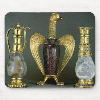 Three liturgical vessels incorporating antique ves mousepad