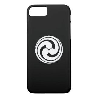 Three long-tailed swirls iPhone 7 case
