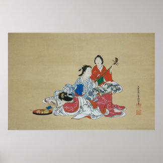 Three lovely Japanese women Poster