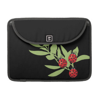 Three Lucky Ladybugs MacBook Pro Sleeve