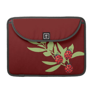 Three Lucky Ladybugs Sleeve For MacBooks