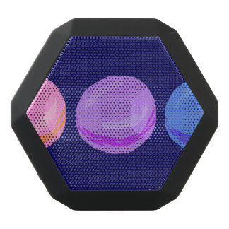 Three Macarons Black Bluetooth Speaker