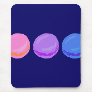 Three Macarons Mouse Pad