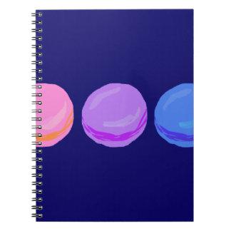 Three Macarons Notebook