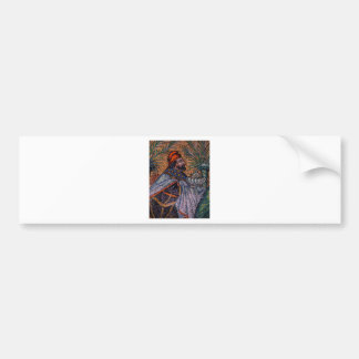 Three Magi I Balthasar Bumper Sticker