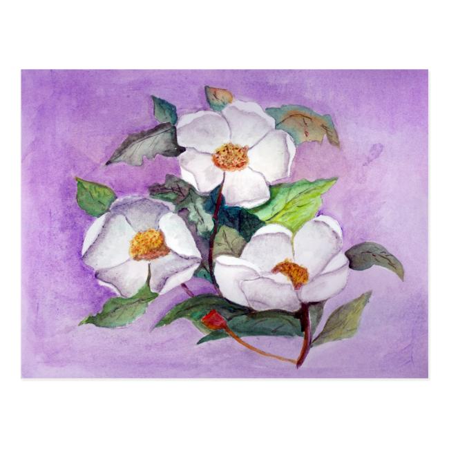 Three Magnolias Post Cards
