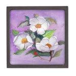 Three Magnolias Premium Trinket Box
