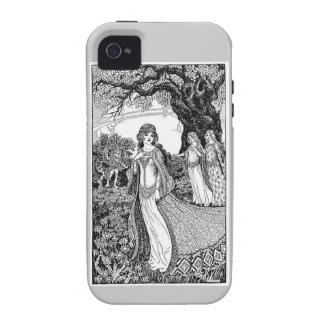 Three Maidens Fair Vibe iPhone 4 Covers