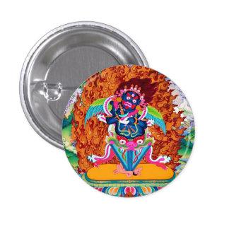 Three Major Saints Cool oriental Dorje Phurba Button