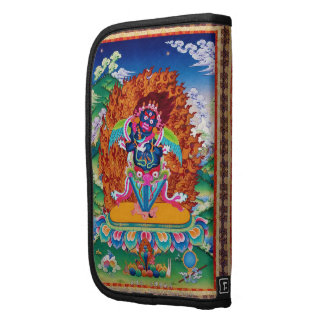 Three Major Saints Cool oriental Dorje Phurba Folio Planner