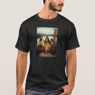 'Three Maori Girls and a Boy' - Lindauer T-Shirt