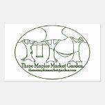 Three Maples Market Garden Stickers