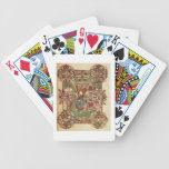 Three Maries at the Sepulchre, from the Benedictio Bicycle Playing Cards