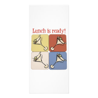 Three martini lunch rack card