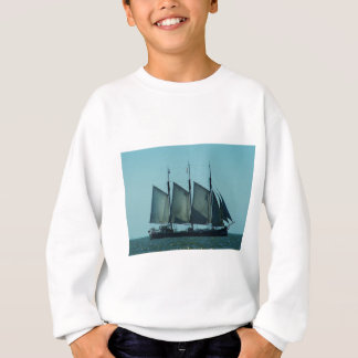 Three masted sailing ship sweatshirt