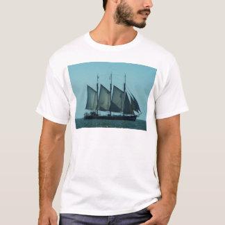 Three masted sailing ship T-Shirt