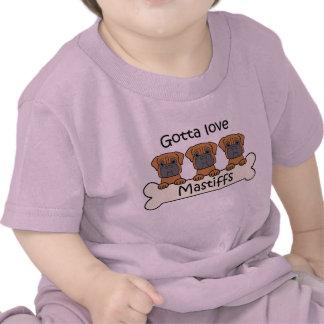 Three Mastiffs T-shirts