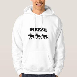 Three Meese Funny Hoodie
