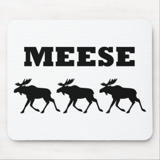 Three Meese Funny Mouse Pad