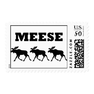 Three Meese Funny Postage