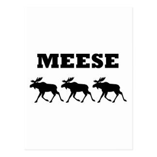 Three Meese Funny Post Cards