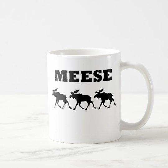 Three Meese Funny T-Shirt Coffee Mug