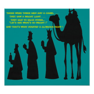 THREE MEN AND A CAMEL POSTER