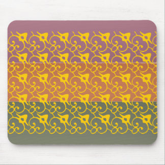 Three Metal Finish Color - Ann Wingnuts Pattern Mouse Pad