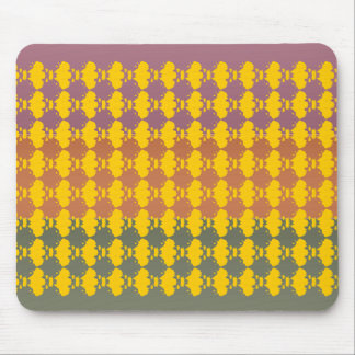 Three Metal Finish Color - Blot Test Pattern Mouse Pad