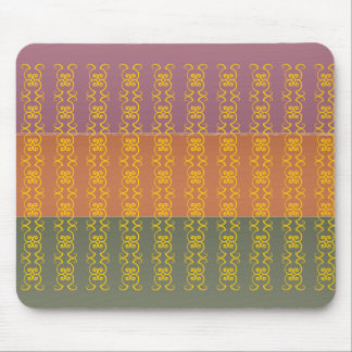 Three Metal Finish Color - Butterfly Pattern Mouse Pad