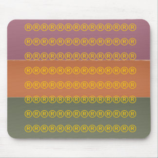 Three Metal Finish Color - Symbol Registered Mouse Pad
